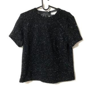 バレンシアガ(Balenciaga)のバレンシアガ 半袖セーター サイズ38 M 黒(ニット/セーター)
