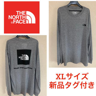 THE NORTH FACE - 最終値下げ❗️ノースフェイス ロングスリーブバックスクエアロゴティー XL