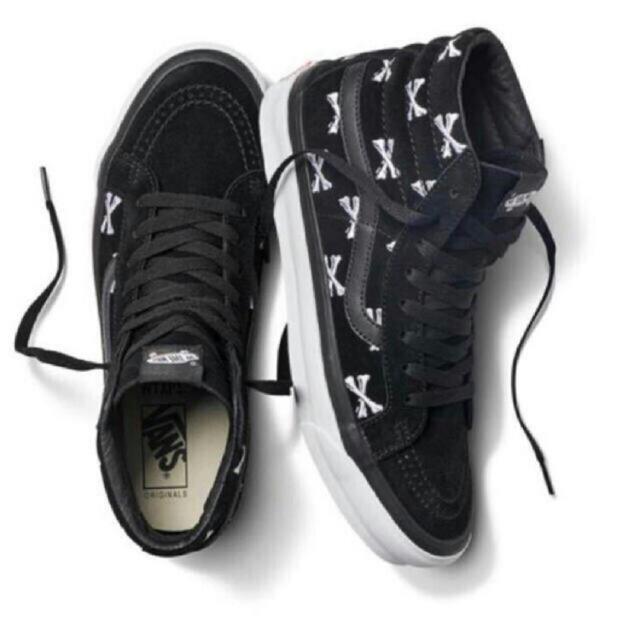 W)taps(ダブルタップス)のWTAPS × VANS VAULT SK8-HI BLACK メンズの靴/シューズ(スニーカー)の商品写真