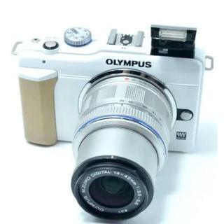 OLYMPUS - オリンパス E-PL1s ホワイト カメラ ミラーレス一眼