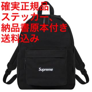Supreme - 新品 Supreme Canvas Backpack black