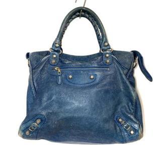 バレンシアガ(Balenciaga)のバレンシアガ ハンドバッグ 282010 ブルー(ハンドバッグ)