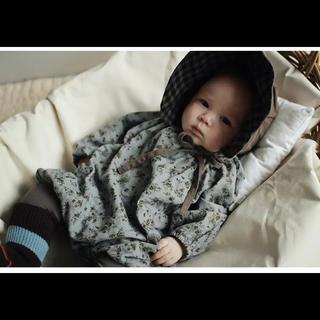 Caramel baby&child  - ヴィンテージフラワーロンパース80