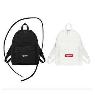 シュプリーム(Supreme)のCanvas Backpack Black(バッグパック/リュック)