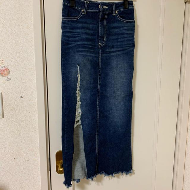 RESEXXY(リゼクシー)のリゼクシー デニムスカート レディースのスカート(ロングスカート)の商品写真