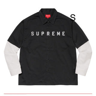 シュプリーム(Supreme)の2-Tone Work Shirt Black Sサイズ(シャツ)