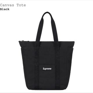 Supreme - supreme Canvas Tote トートバッグ 黒 ブラック シュプリーム