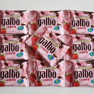 明治 - ガルボ  つぶ練り苺  10袋(スティックオレ1本プレゼント♪)