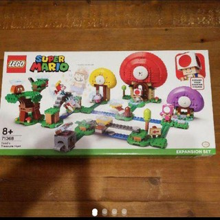 Lego - 最安値 ★LEGO★ニンテンドー★任天堂★マリオ★キノピオと宝さがし★71368