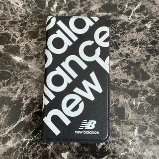 New Balance - iPhone11Pro Balance スリム手帳ケース ブラック