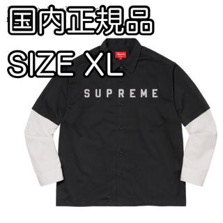 Supreme - Supreme 2-Tone Work Shirt シュプリーム ツートン