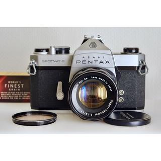 ペンタックス(PENTAX)のPentax SP + S.Takumar 1:1.8 / 55 美品・試写済(フィルムカメラ)