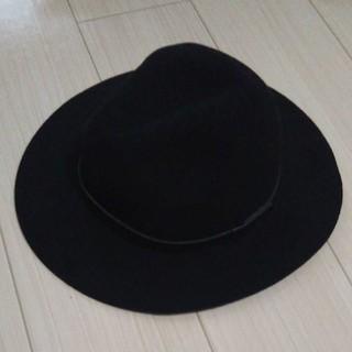 エイチアンドエム(H&M)のH&M ハット 黒(ハット)