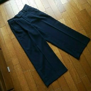 GU - GU パンツ ネイビー M
