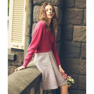 ノエラ(Noela)のツイードフレアスカート(ひざ丈スカート)