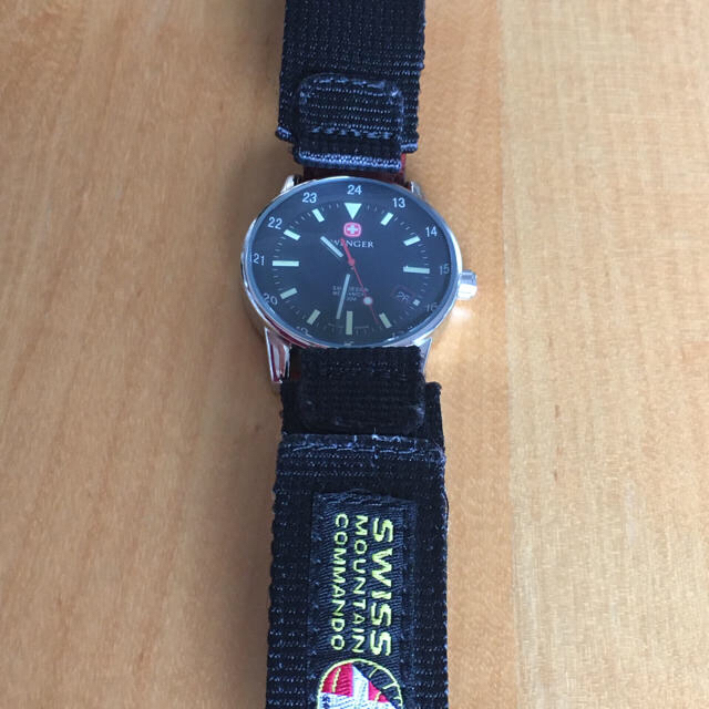 Wenger(ウェンガー)の値下げ:スイス製 WENGER MECHANICAL メンズの時計(腕時計(アナログ))の商品写真