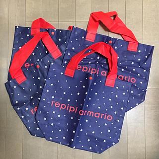 レピピアルマリオ(repipi armario)のレピピアルマリオ ショッパー 4枚セット(ショップ袋)