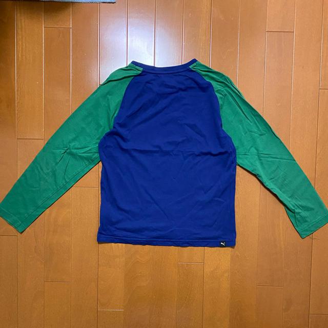 PUMA(プーマ)のPUMA 長袖Tシャツ 140サイズ キッズ/ベビー/マタニティのキッズ服男の子用(90cm~)(Tシャツ/カットソー)の商品写真