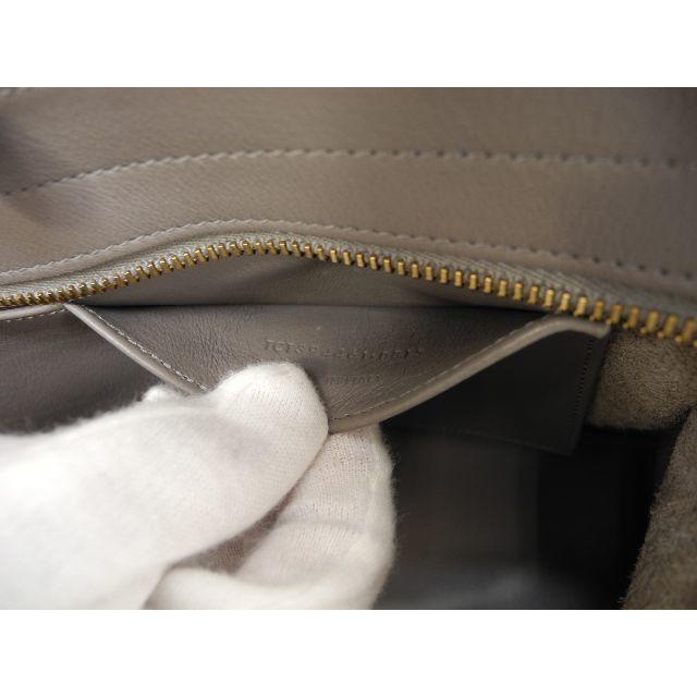 Saint Laurent(サンローラン)のサンローラン カバスバッグスモール YSL レザー灰 クラシックYSLカバ 極美 レディースのバッグ(ハンドバッグ)の商品写真