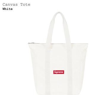 シュプリーム(Supreme)のシュプリーム  トートバック Supreme Canvas Tote WHITE(トートバッグ)
