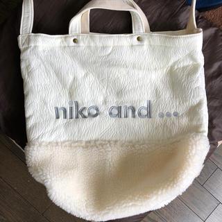 ニコアンド(niko and...)のniko and バッグ(トートバッグ)