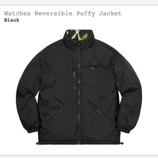 シュプリーム(Supreme)のWatches Reversible Puffy Jacket supreme (ブルゾン)