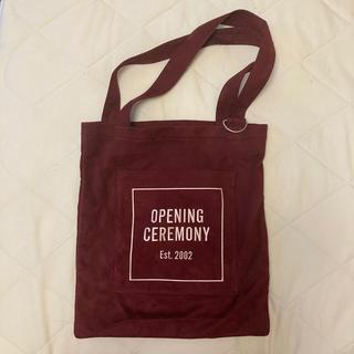 オープニングセレモニー(OPENING CEREMONY)の値下げ☆レア!OPENING CEREMONY トートバッグ(トートバッグ)