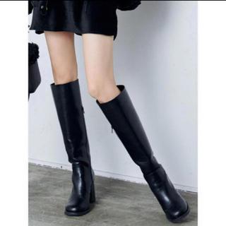 エモダ(EMODA)の新品未使用 エモダ ラウンドロングブーツ(ブーツ)