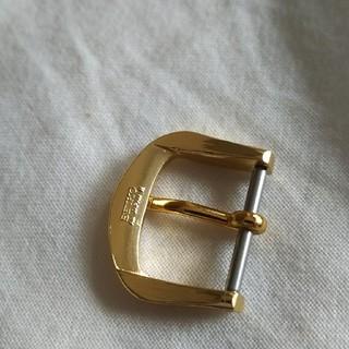 セイコー(SEIKO)のセイコー尾錠純正ゴールド15ミリ(腕時計(アナログ))