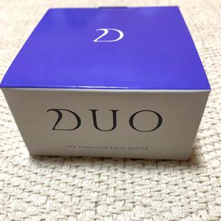DUO クレンジングバーム ホワイト 新品(クレンジング/メイク落とし)
