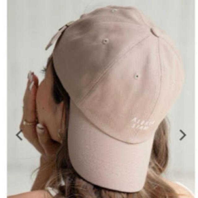 ALEXIA STAM(アリシアスタン)のALEXIA STAM キャップ ベージュ レディースの帽子(キャップ)の商品写真