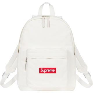 シュプリーム(Supreme)のSupreme Canvas Backpack white(バッグパック/リュック)