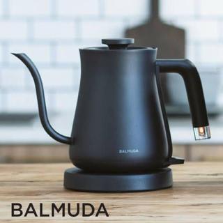 バルミューダ(BALMUDA)のThe Pot K02A > The Pot K02A-BK [ブラック](電気ケトル)