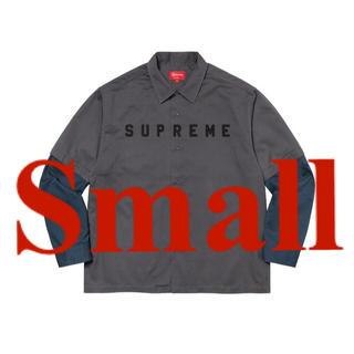 Supreme - Supreme 2 Tone Work Shirt グレーS