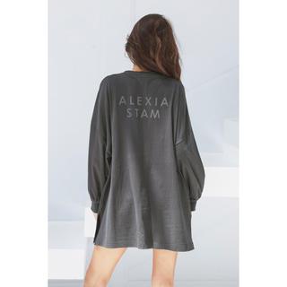 ALEXIA STAM - alexiastam ロングスリーブT