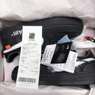 27cm NIKE off-white AIR FORCE 1 low(スニーカー)