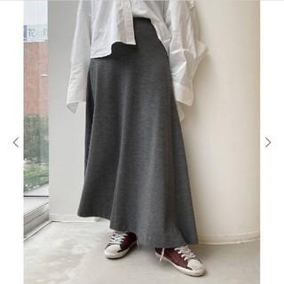 L'Appartement DEUXIEME CLASSE - L'Appartement/Wool Asymmetryスカート/グレー/34
