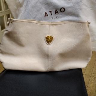 アタオ(ATAO)のお値下げ 美品 ATAOエルビィ(トートバッグ)
