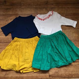 GLOBAL WORK - 女の子洋服セット110〜120グローバルワーク.プティマイン アプレレクール