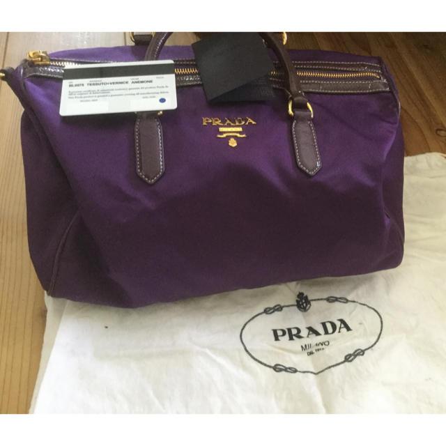 PRADA(プラダ)のPRADAハンドバック 美品 レディースのバッグ(ハンドバッグ)の商品写真