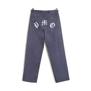 PEACEMINUSONE - PMO WORK PANTS #1 WINE