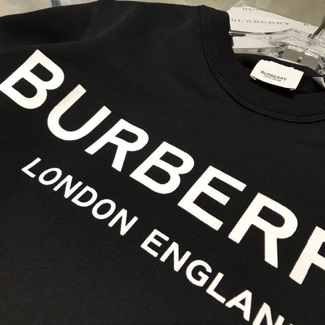 BURBERRY(バーバリー)の BURBERRY ロゴプリント フーディ メンズのトップス(パーカー)の商品写真