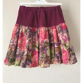 アナスイミニ(ANNA SUI mini)のANNASUI miniバルーンスカート☆130(スカート)