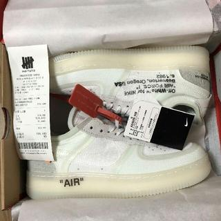 28cm Off-White x Nike Air Force 1 Low(スニーカー)