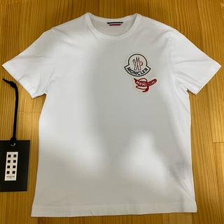 モンクレール(MONCLER)の【破格】20SS新作 モンクレールジーニアスxMAMIWATA TシャツS美品(Tシャツ/カットソー(半袖/袖なし))