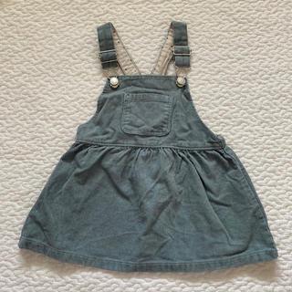 ザラキッズ(ZARA KIDS)のzara baby コーデュロイジャンパースカート(スカート)