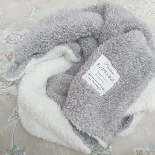 フランフラン(Francfranc)のシープボアブランケット ふわふわ 膝掛け Francfranc 北欧 北欧雑貨(毛布)