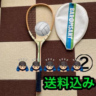カワサキ(カワサキ)の②カワサキ kawaski 軟式 テニスラケット送料込み(ラケット)