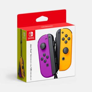 Nintendo Switch - Joy-Con (L) ネオンパープル/ (R) ネオンオレンジ
