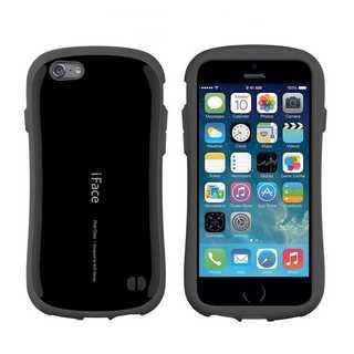 【C21】iFace iPhone7/iPhone8 (黒)スマートフォンケース